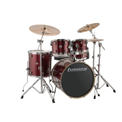 Ludwig Element Evolution 22 - Red Sparkle