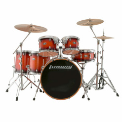Ludwig Evolution Maple 6-Piece - Mahogany Burst